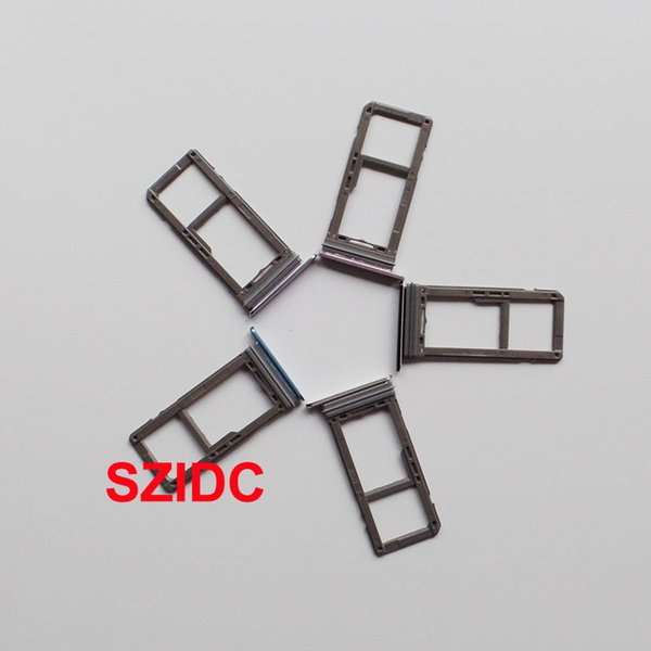 For Samsung Galaxy S8 G950 And S8 Plus G955 Sim Card Holder Slot Tray  Single Sim Models Original New Wholesale Mobile Phone Replacement Parts  Mobile