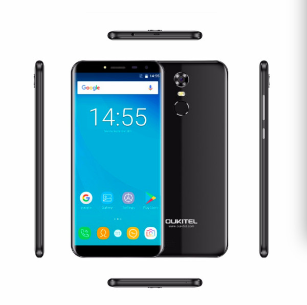 "top popular Oukitel C8 4G Smart Cell Phone 18:9 Display 5.5"" Smartphone Android 7.0 MT6737 Quad Core 3000mAh 2GB+16GB Fingerprint 13.0MP Camera 2019"