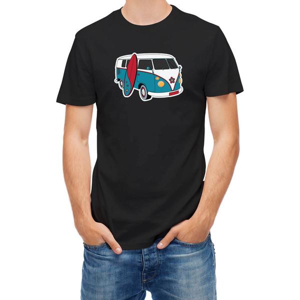 T-shirt Surfer Gezgin Macera Surfer Hip Hop Yenilik T Shirt erkek Marka Giyim Tee T Gömlek Yüksek Kalite