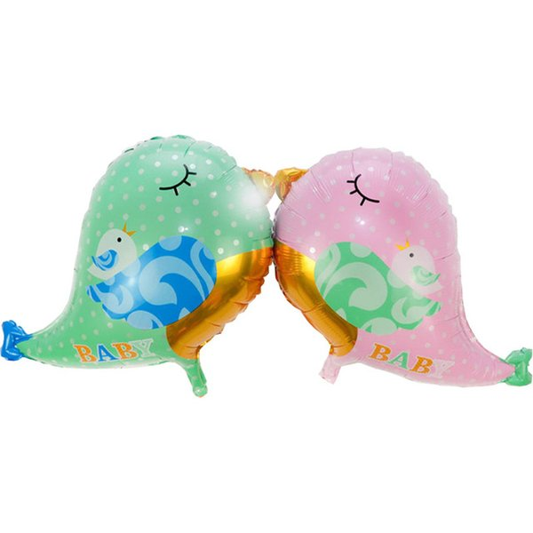 Baby Bird Foil Balloons for Birthday Party Decoration Helium Balloons Baby Gifts Kids Toys Partey Supplies