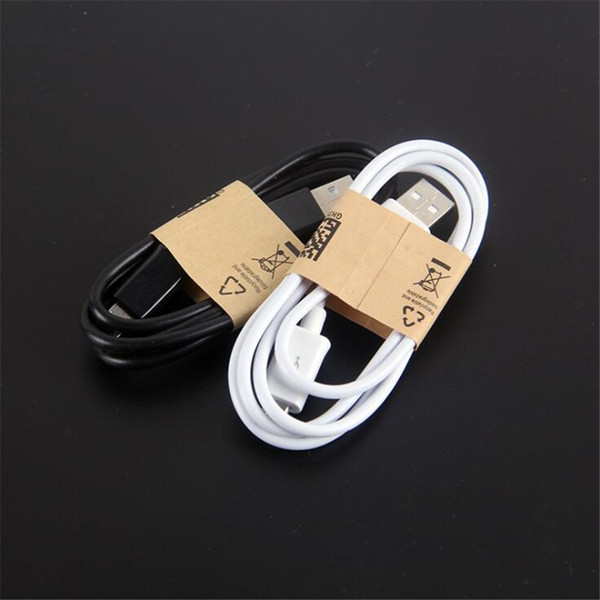 1m 3FT Micro V8 5pin usb data sync charger cables for Samsung s8 s9 s10 s6 s7 note 8 9 htc lg