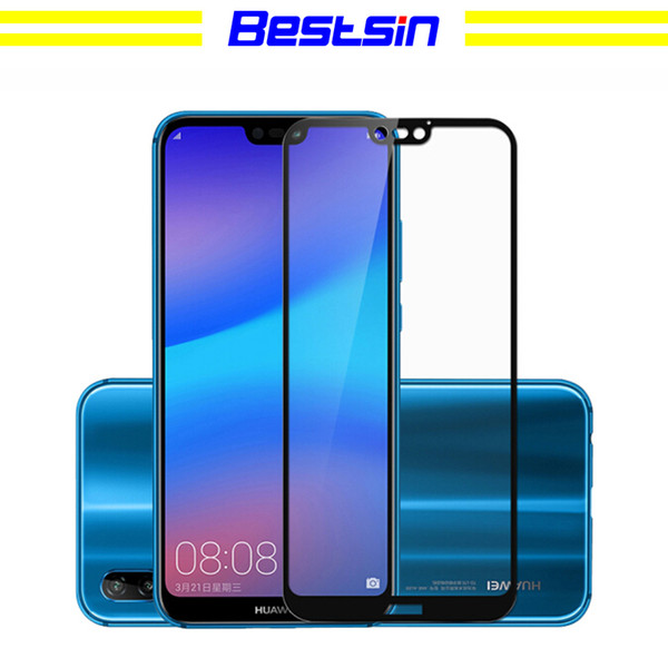 Bestsin For Huawei P20 Pro 3D Tempered Glass Screen Protector For Huawei P10 Lite Mate 10 Pro P10 Plus