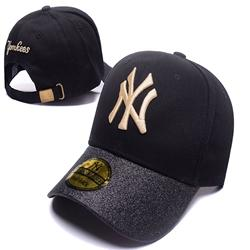 New Girls Boy Sequins Patchwork Casquette Caps Letter Ny Women Fashion Sports Baseball Cap Peaked Cap Sun Hat Bone Gorras