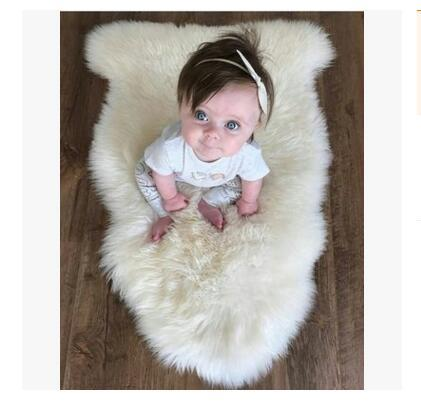 Ковер девушки одеяло дети ползать коврик новорожденный искусственный мех фотографии реквизит мальчиков новорожденный корзина 95 * 76 см детские фото аксессуары лучшие подарки