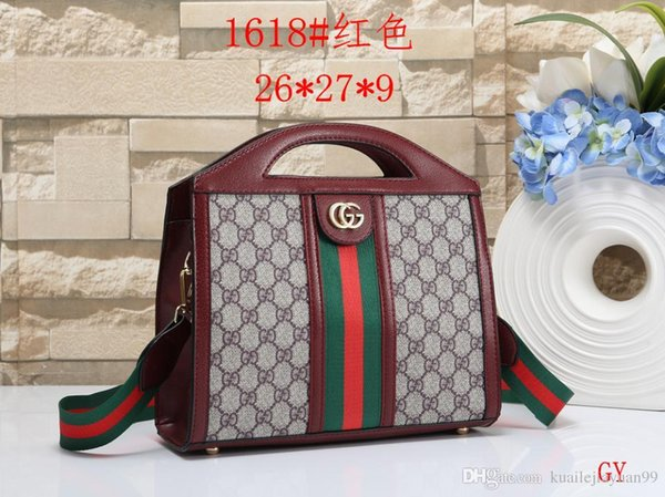 2018 New Fashion Totes 888 Shoulder Bags Brand Designer Handbag Hot Sale Women Casual Canvas Shoulder Bag Chains of Large Capacity Bag brand