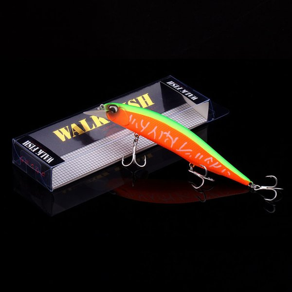 WALK FISH 2018 Hot Model Wobbler Fishing Lure 135mm 17.4g Floating Minnow Crankbait Bass Pike Bait Fishing Tackle Pesca Y18100806