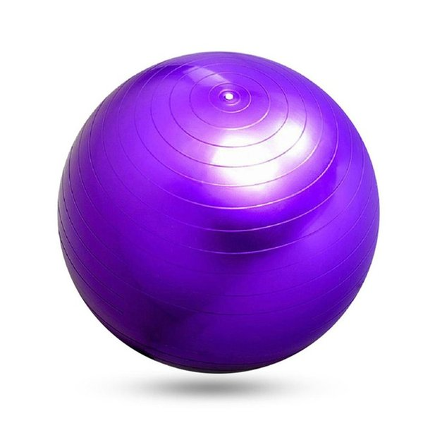 PVC Fitness Ball,Thick Anti Burst Slim Shaping Body Balance Stability Training Exercise Style Yoga Ball with Foot Pump