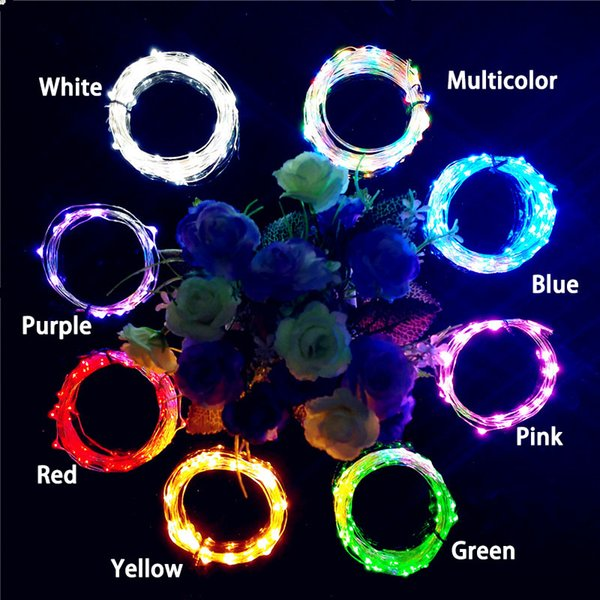 Hot 2M LED Garland Copper Wire Corker String Fairy Lights for Glass Craft Bottle New Year/Christmas/Valentines Wedding Decoration