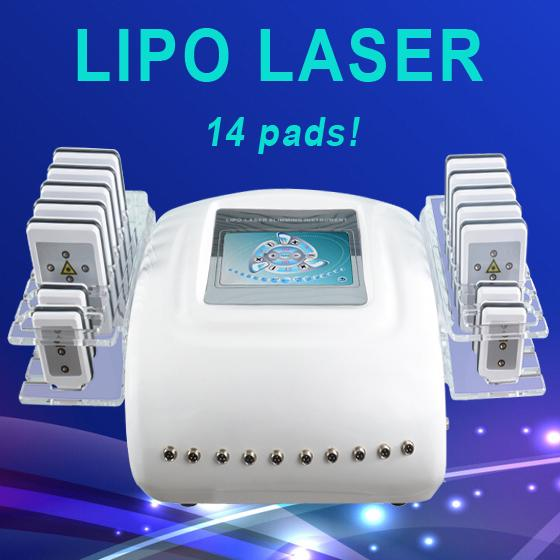 Portable lipo Laser Therapy Weight Loss Machine Low Level LLLT Diode Lipo Laser Slimming Machine suitable for whole body