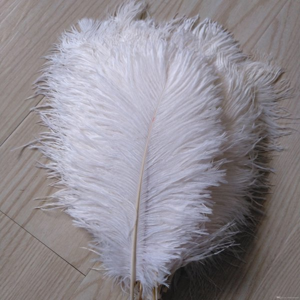 Wholesale-Free Shipping 20-22inch(50-55cm) White Ostrich Feather for Wedding Decor,wedding centerpiece party event sypply decor z134