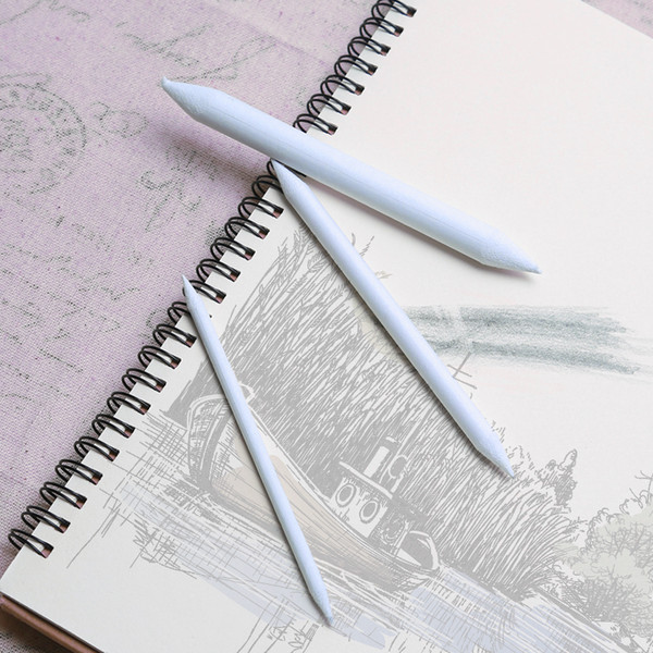 3/6 Pcs/set Double Head Durable Art Drawing Tool Pastel New Blending Smudge Tortillon For Material Sketching Paper Pencil
