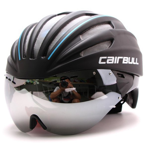 6 Colors 280g Ultra-light Goggle Road Bicycle Helmet Racing Cycling Bike Sports Safety Helmet in-mold Road Bike