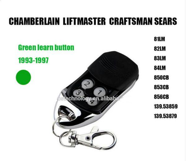 Für Chamberlain LiftMaster Craftsman 81LM, 82LM, 83LM und 84LM Comp Mini-Garagentorsender Grüner intelligenter Lernknopf Sehr