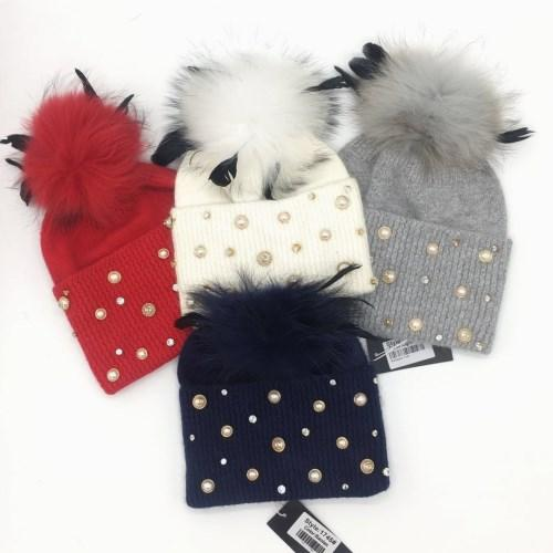 New brand design good qualtiy Autumn and winter good quality 70% wool 30% rabbit hair material free size hat cap for women