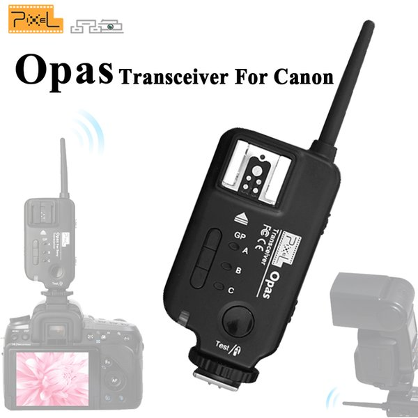 2019 PIXEL Opas Wireless Shutter Release Remote Control Flash Trigger  Transceiver Transmitter FSK 2 4GHz 4 Channel For Cameras From Buy3c, $49 28  |