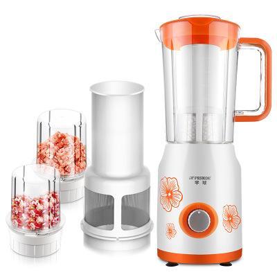 Multi-function Food processor Househould juicer mixer Cooking Machine 1500ML juice smoothie minced meat dry grinding soybean milk blender