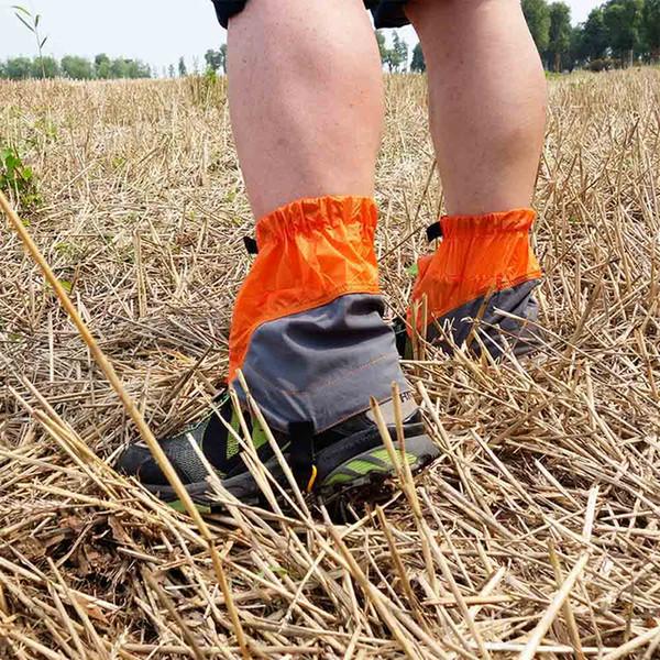 Snow Leg Gaiters Outdoor Silicon Coated Nylon Waterproof Ultralight Gaiters Leg Protection Guard Hiking Climbing Trekking