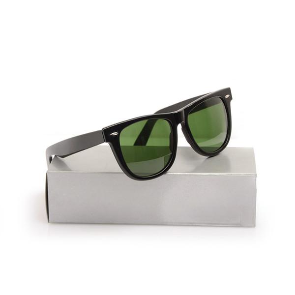 Black Frame Green Lens 54MM