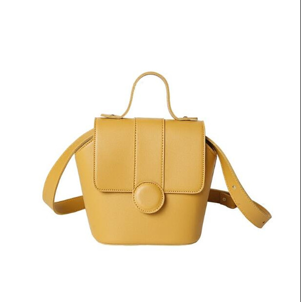 New small Women Handbag Pu Leather candy color Cross body Shoulder Bag Female Messenger Bag cute qimgui8