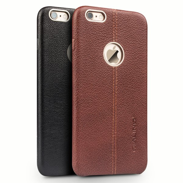 Qialino Genuine Leather For Iphone6 Case For Iphone 6s Case Fashion For Iphone6 6s Plus Cover Case 4 .7 /5 .5 Inch Best Phone Cases