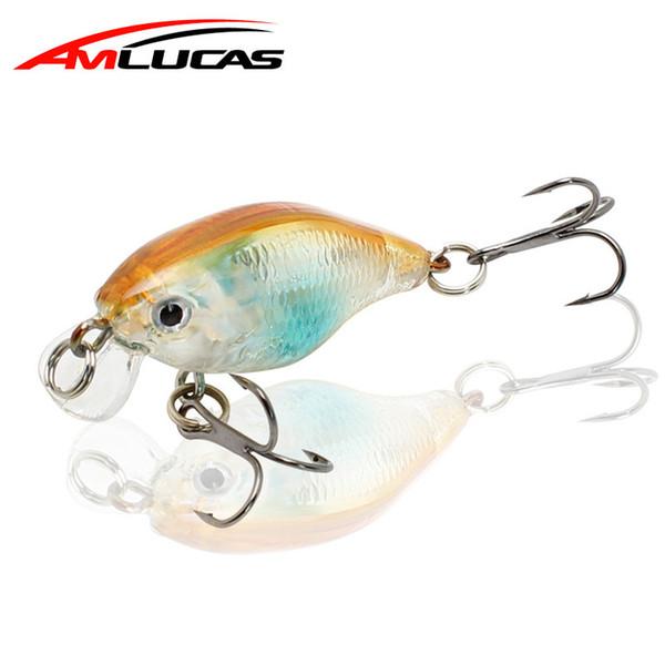 Crankbaits Minnow Fishing Lure 45mm 4.4g Crankbait Hard Bait Artificial Wobblers Baits Hook Baits, Lures & Flies