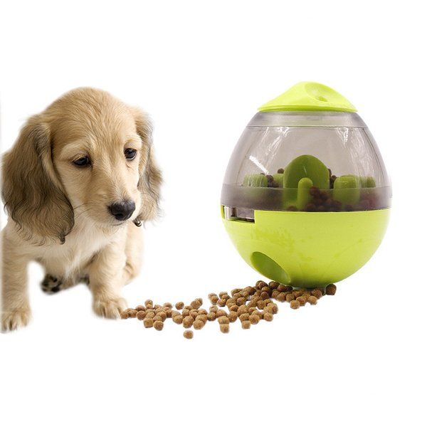 Free DHL Dog Food Toy Interactive Tumbler Leaking Food Balls Pet Dog Toys Funny Chew Toys for Cats Dogs Pet IQ Treat Balls B