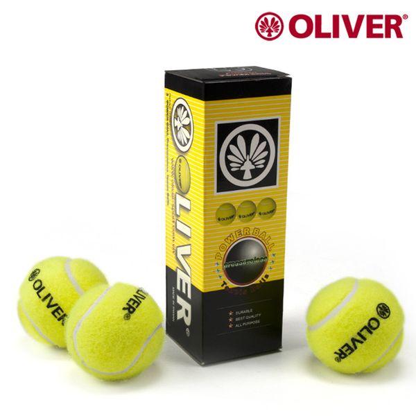 3pcs Tennis balls Strong Bounce High Resilience Tennis Training Ball Durable Ball C level No net pressure