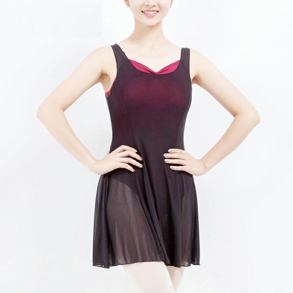 Preto Adulto Ballet Leotards Vestido Bailarina Bodysuit Rendas Meninas Traje de Dança Ballet Leotards Para As Mulheres Roupas de Dança Clássica