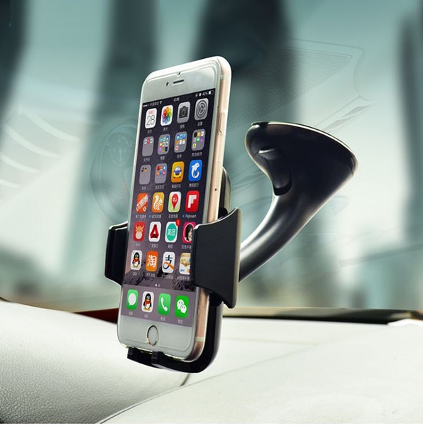 Car Mobile Phone Holder For Iphone X 8 7 6 Plus For Samsung Galaxy Note edge Adjustable 360 Rotate Support 6.0 inch