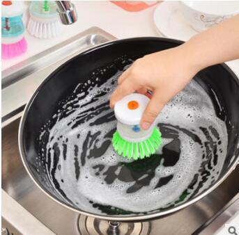 Creative Hydraulic Dishwasher Dishwasher Automatic Liquid Washer Brush Convenient Kitchen Cleaner Brush Kitchen Gadgets