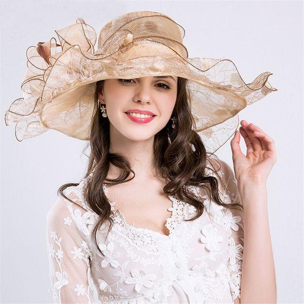 2018 Elegante Acquista Summer Big Female Caps New Cappello Fashion dqwcwSn