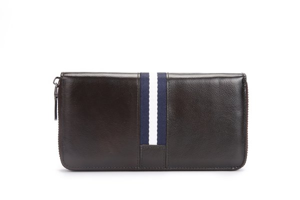 New High quality Genuine leather men wallet fashion hide-layer cow leather clutch business purse no497
