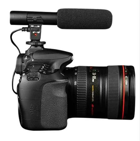 Professional Studio Digital Video Stereo Recording 3.5mm Microphones For Camera For Canon For Nikon Hot Sale K5