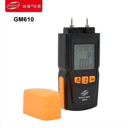 Détecteur d'humidité en bois Testeur d'humidité du bois hygromètre Hygromètre 2-70% Matériaux de construction bois de bambou