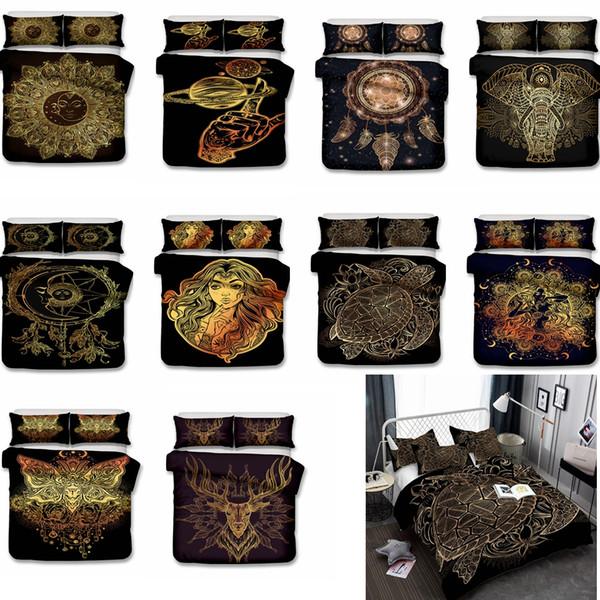 10styles US AU Size Luxury Bedding Set Duvet World Map Printed Bed Cover Set King Sizes Duvet Cover Bedding 3pcs Set GGA776