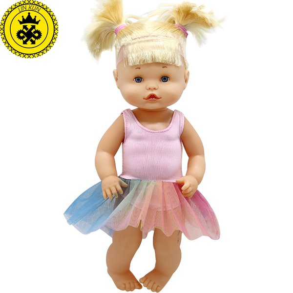 Doll Clothes Fit 35 cm Nenuco Doll Nenuco y su Hermanita Cute Princess Dress Suit Accessories 628