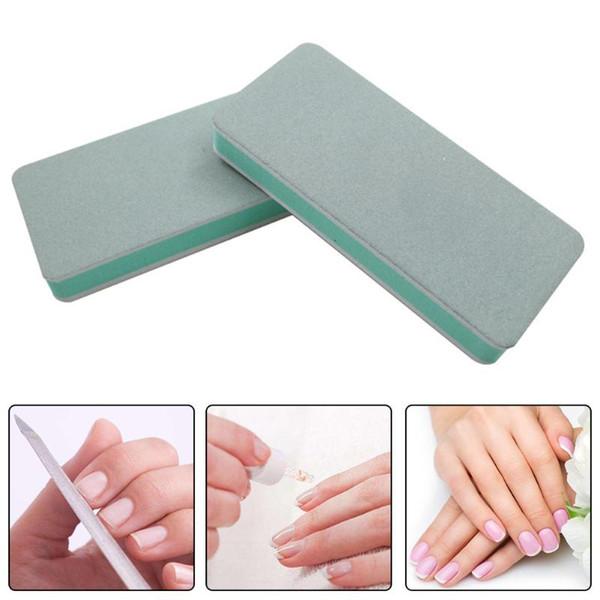 1PC DIY Sanding Sponge Gel Nail File Buffer Block Nail Polish Pedicure Art Tool Tools Accessoires