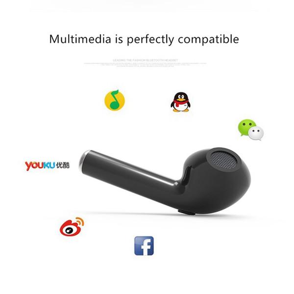 I7 TWS Twins Mini Wireless Bluetooth 4.2 Cuffie stereo caricabatterie musica per Android Smart mobile Cellulare accessori cellulari