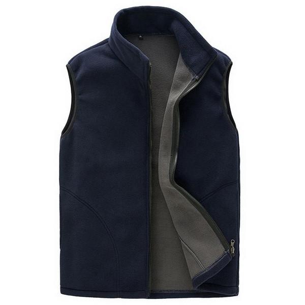 Autumn Winter Extra Large Waistcoat Men Hooded Vest Cotton Down Jacket Sleeveless Coat Drop Shipping New