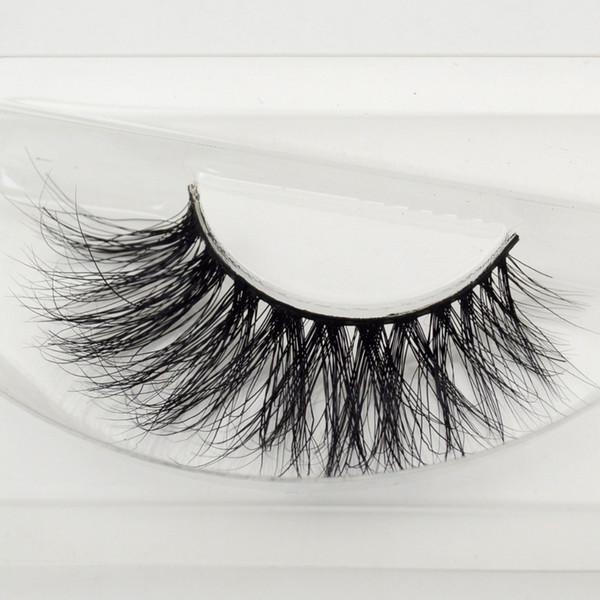 a2740cbd525 Visofree Mink Lashes 3D Mink Eyelashes Crossing Eyelashes Hand Made Full  Strip False Eye Lashes New