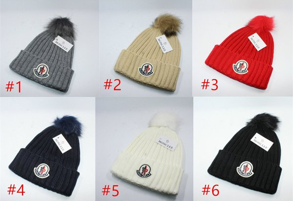84e5a61b150 Hot Famous Designer Luxury Brand Caps Autumn Winter Fashions Knitting Hats  for Men and Women Kids Xmas Gift