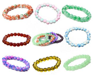 Cabelos mistos Multicolor