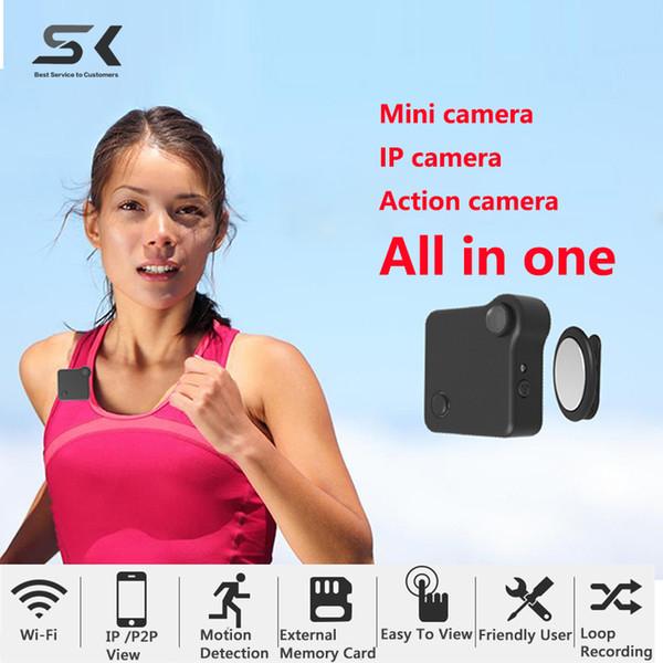 Caméra IP Wifi Mini Caméra C1 720P HD Micro Caméra H.264 Détection de mouvement Caméscope Mini DV Cam vidéo sans fil