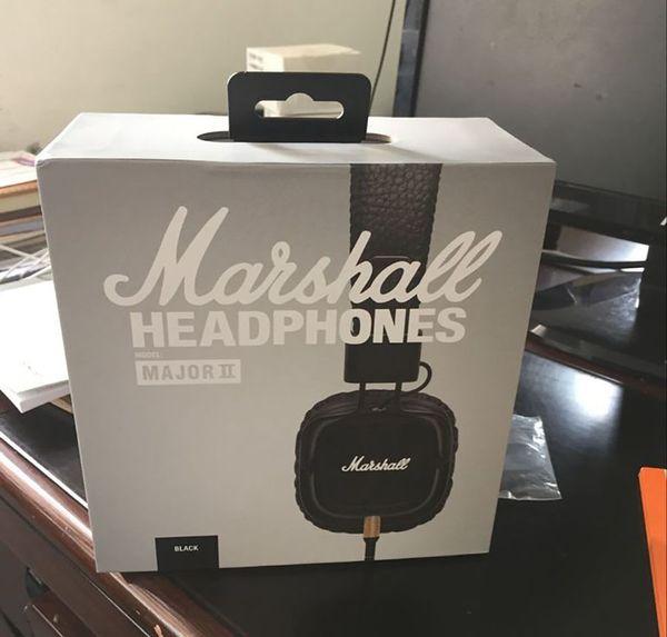 Marshall principal II manos libres profundo bajo con cable auriculares cancelación de ruido de alta fidelidad DJ profesionales auriculares con micrófono con cable extraíble
