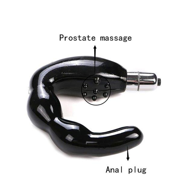 Erkekler Su Geçirmez Anal Seks Oyuncakları Prostat Masaj noktası C G-spot Masturbators Sopa Unisex Silikon Dldo Vibratör Seksi Ürünleri