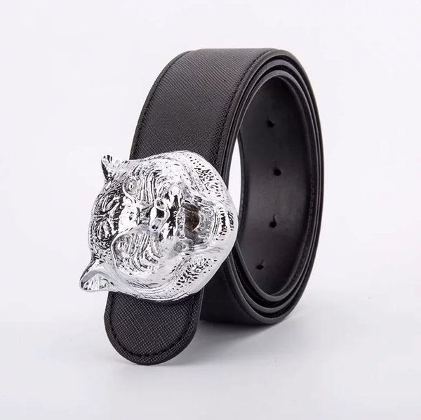 Black with silver buckle