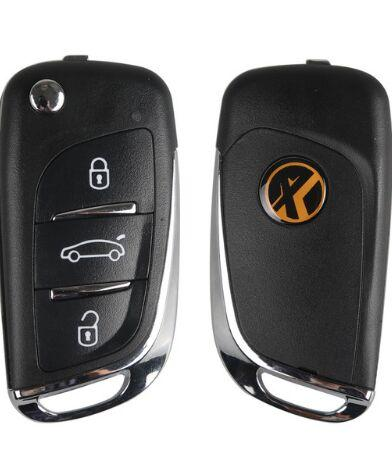 Xhorse chaves remotas universal vvdi2 sem fio + anti-roubo ds placa eletrônica chip de uso vvdi programação chave de dobramento remoto fabricante