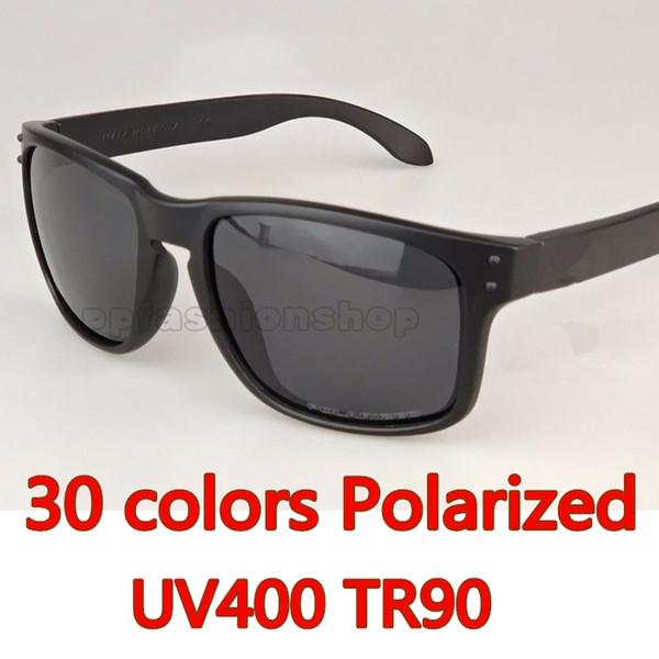 2018 New Man Women Brand Sunglasses Designer Sunglasses 9102 Polarizedlens Sunglasses TR90 Picture Frame Sport Driving Glasses 30 colors