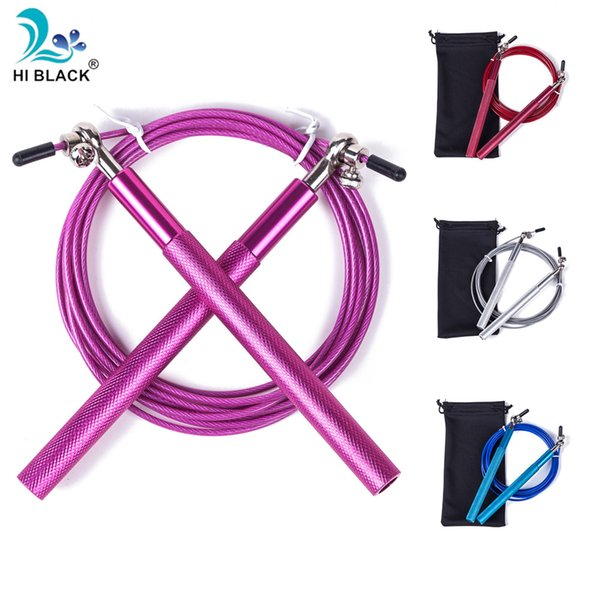 Adjustable 3m Jump Rope Corda Crossfit Sports Gym Single Skipping Speed Rope Fitness Exercise Equipment Aluminum Handles