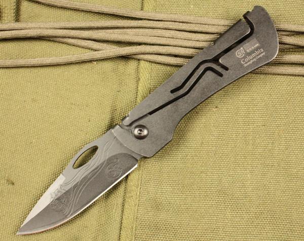 SR248 SR 248 mini faca de bolso EDC ferramenta de caça ao ar livre faca dobrável ferramentas de camping faca de presente de natal para o homem